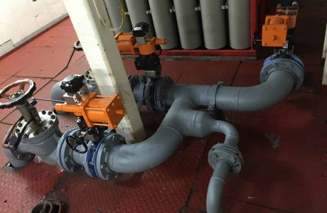 Installation of New MGO and Automation for new MGO Fuel System Pipelines