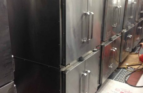 Mechanical and Electrical Installation of New Main Galley Ovens, USPH Approved.