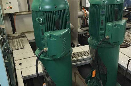New Grey Water Pump Installation
